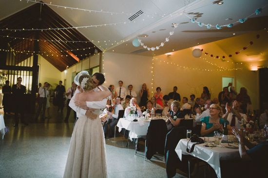 Gundaroo Country Wedding   Polka Dot Bride - love the fairy lights!!