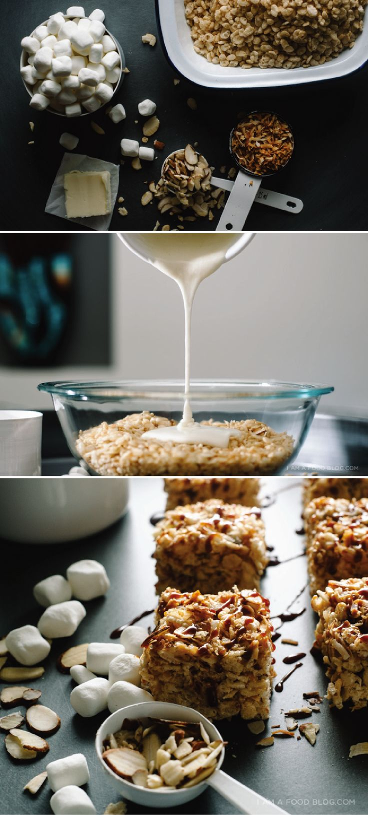 Nostalgic yet deliciously unique, these Coconut Almond Rice Krispies Treats® are the sure to become your new favorite dessert. Using just six ingredients you can easily whip up a batch for your kids after school.