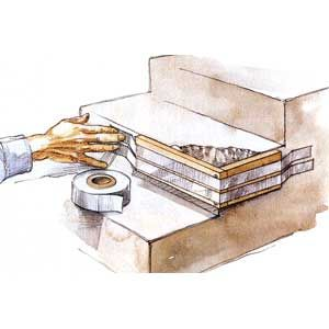 Illustration by Narda Lebo | thisoldhouse.com | from Fixing Chipped Concrete Steps