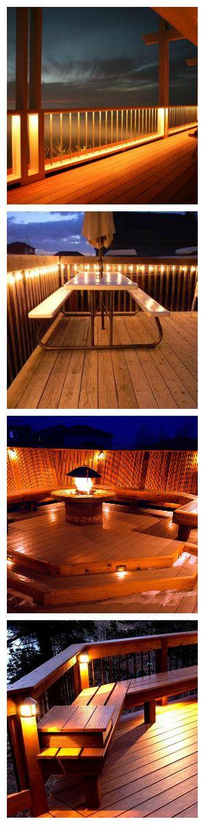 """Если вы ищете способ, чтобы расширить обзор с балкона загородного дома и в то же время не вредить виду захода солнца, вы должны будете исследовать несколько вариантов освещения. Одним из оптимальных вариантов, является освещение балкона по типу корабельной палубы - когда свет исходит из-под поручней ограждения или так сказать """"борта"""". #освещение #подсветка #светодиоды #светодизайн #дизайнсвета #освещениебалкона #светодиодноеосвещение #светодиоднаяподсветка #светодиодныесветильники #балкон"""