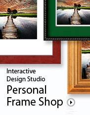 Online Frames.  Personal Frame Shop @ pictureframes.com