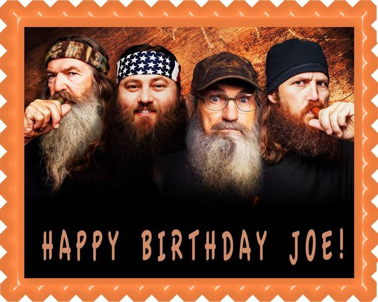 Duck Dynasty Edible Cake Topper & Cupcake Toppers – Edible Prints On Cake (EPoC)