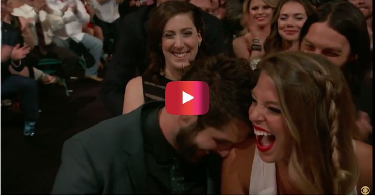 And the most adorable moment of the ACM Awards goes to — Thomas Rhett and wife Lauren