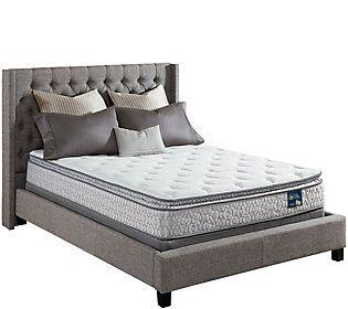 Serta Prize Pillowtop Cal King Mattress Set