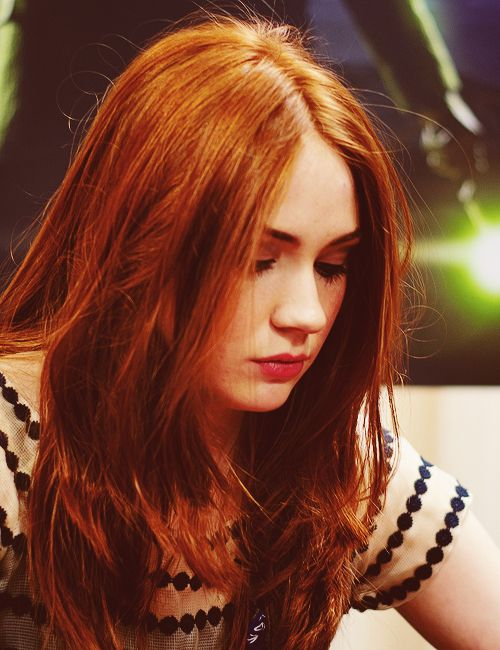 British actress Karen Gillan #karengillan #drwho