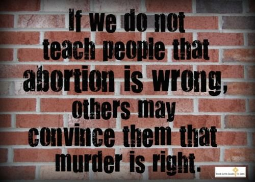 Abortion is murder essay