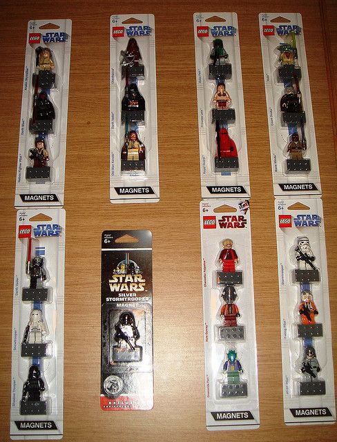 Star Wars Magnets by Federico78, via Flickr