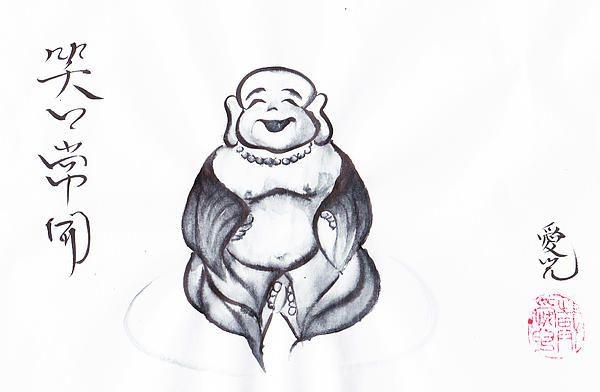 Laughing Buddha by Oiyee at Oystudio #laughing #buddha