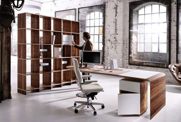 Designer table with steel pillar #Furniture #Design #Vietnam