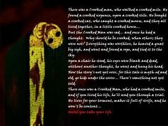 AWESOME poem!!! The Crooked Man