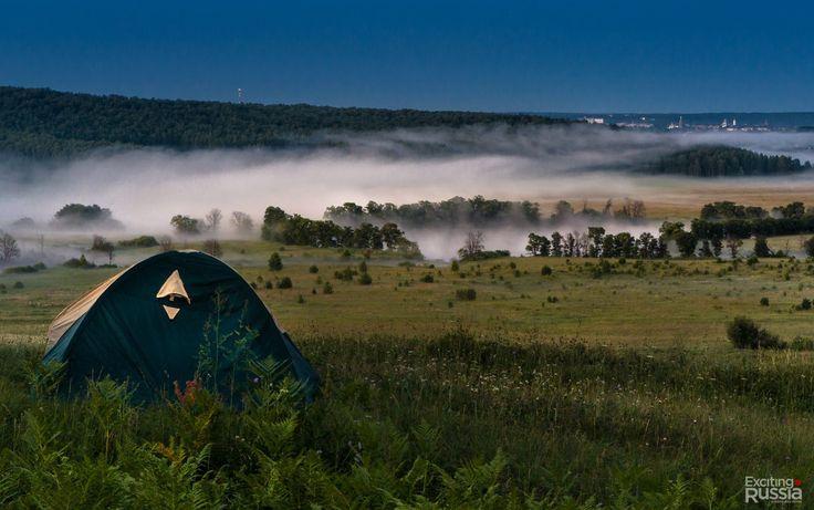 Долина реки Сылвы. Пермский край.  Фото: Александр Паньков