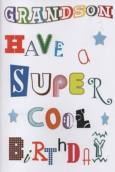 The 12 Best Grandson Birthday Cards Images On Pinterest Grandson