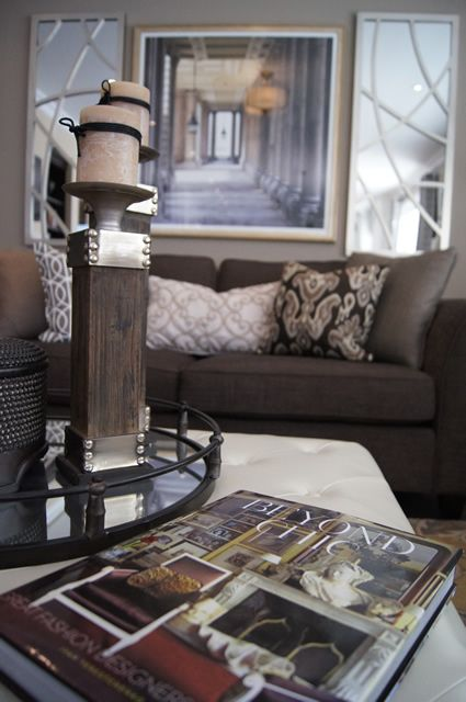 Model home furnishings and design