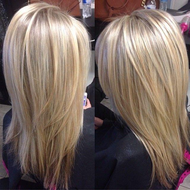 Natural blonde highlights!