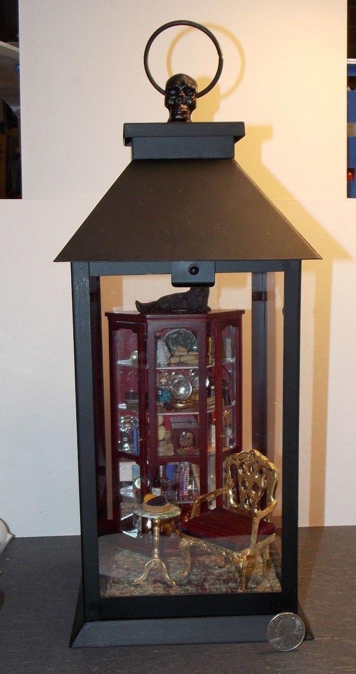 Dollhouse Binoculars Field Glasses 1:12 Scale Metal Miniatures
