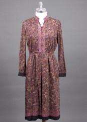 Carousel Vintage print dress
