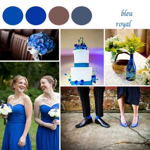 la couleur palette à la mode en automne 2014 bleu royal