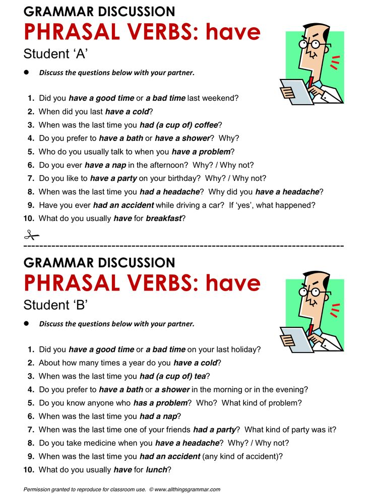 English Grammar Phrasal Verbs with 'have' www.allthingsgrammar.com/phrasal-verbs-have.html