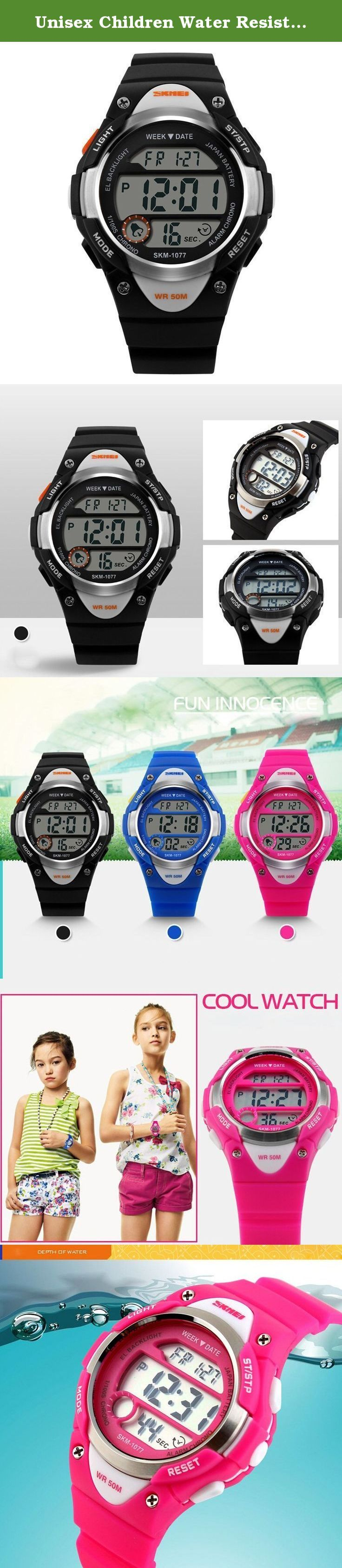 Unisex Children Water Resistant Watch Multifunction LED Watch Student Boy Girl Sports Wristwatch- Black. A variety of styles you can choose in our store ! Package Included: 1 x Watch Please Note: 1. Actual color may vary from picture due to computer settings. 2. Find store front of Sunny world, more surprises are waiting for you! Dear Buyer, Thanks for your continuous support to our store, and we are always striving to improve ourselves in terms of service, quality, sourcing, etc. It…