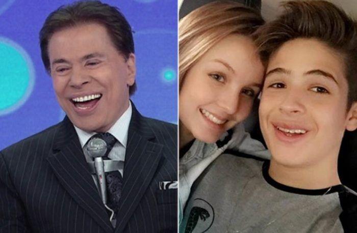 Namoro entre filho de Leonardo e Larissa Manoela foi ideia de Silvio Santos