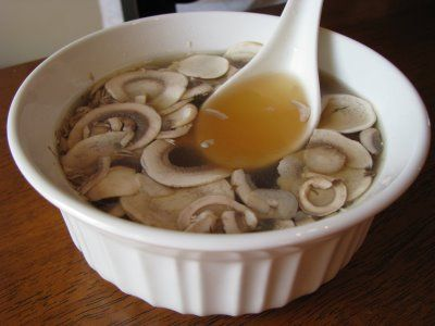 One pinner says: Recipe for the soup they serve at Hibachi restaurants. I always want this when I'm sick.