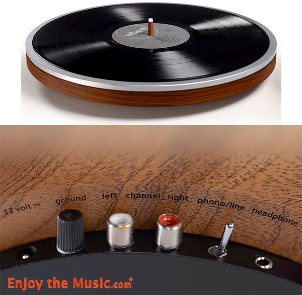 Wheel Turntable By Miniot Brings Linear Tracking Upside Down