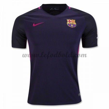 Barcelona 16/17 » Billige Fodboldtrøjer Barcelona 2016-17 Kortærmet Udebanetrøje