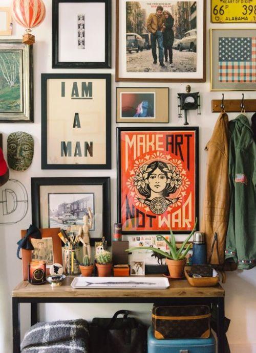 Imagem de art, posters, and room