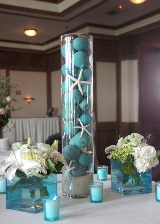 Under The Sea Wedding Theme Decorations | under the sea centerpiece