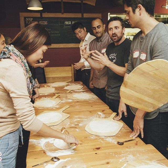 Have you reserved your space for our Dine Out Vancouver pizza making + craft beer events? We're filling up fast; book while you still can! Link in our profile! @dineoutvanfest  #vancouver #yvrfoodie  #pizza  #bccraftbeer #mainstreet #kitsilano #madeinbc #eastvan #familyowned #homemade #organic #bestmeal #instafood #dineout2016 #DOVF #madewithlove