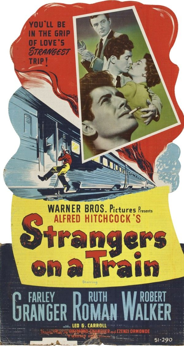 ❤️ 0234B | Alfred Hitchcock | Strangers on a Train | USA (1951)