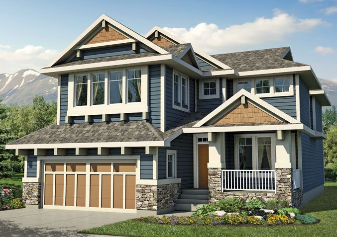 Baywest Riverwood | New 2-Storey Homes Calgary | Baywest.