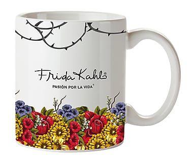 Taza de cerámica Frida Kahlo - multicolor