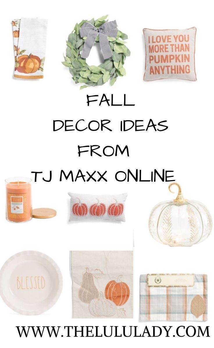 Fall Decor Ideas From Tj Maxx Fall Decor Tj Maxx Decor Tj Maxx