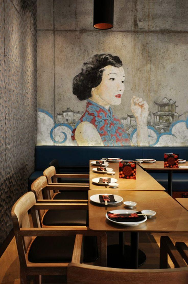 Los 29 mejores dise os de interiores de bares y for Koi sushi aix