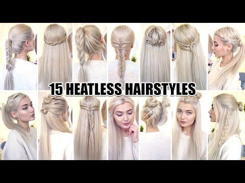 pretty girls hair styles 17 best ideas about heatless hairstyles on no 5747 | 5a8a5747d391a32c08be07d26b7de606