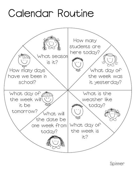 Kindergarten Calendar Time Routine : Best daily routines images on pinterest english class