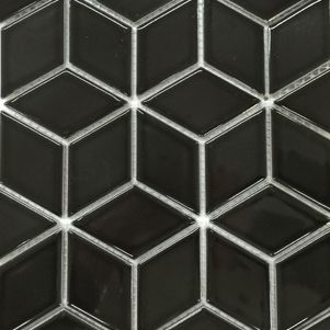 Black Diamond Mosaics - Products - Surface Gallery #diamondmosaics #black #diamond