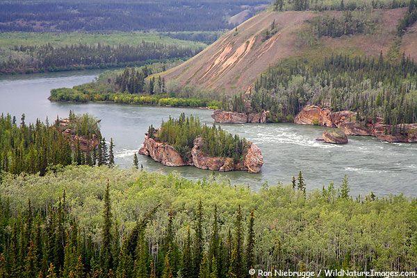 Five Finger Rapids--The Yukon River