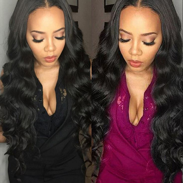 7A Grade Rosa Haarprodukte Königinhaar Brasilianisches Reines Haar 3 teile/los Körperwelle Natürliche Farbe Menschliche Haarwebart Bundles verlängerung