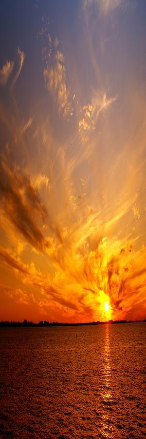 Spectacular Sunset Photograph