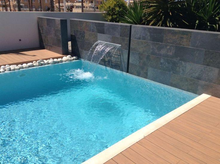 Mejores 184 im genes de piscinas en pinterest casas for Piscinas autoportantes rectangulares