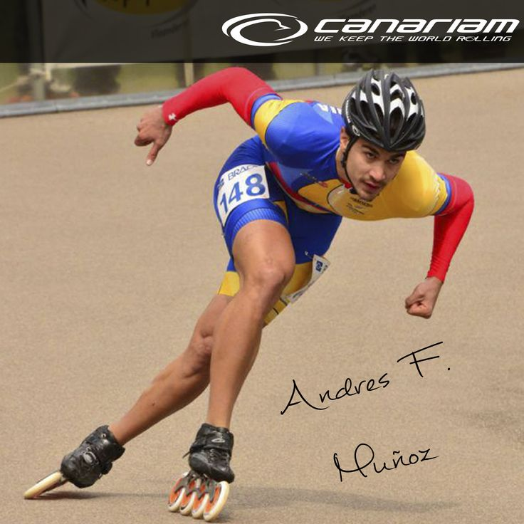 Andres F Muñoz !! Campeón mundial  www.canariam.com