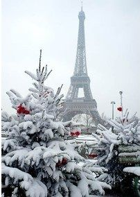 Christmas in Paris. Oh ... I can't wait to go there again.