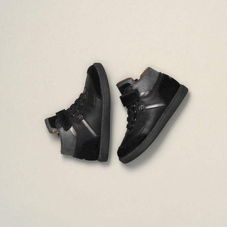 brit de muñeco Hombres LÄSSIG sintéticas Low negras de Top zapato tamaño, color Negro, talla 40