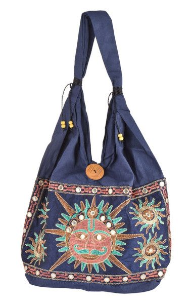 Cotton Totes – Indian Mandala Tote Bags Made In Cotton (Shopping) – a unique product by IndianCraftPalace on DaWanda