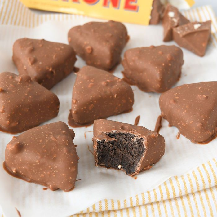 Toblerone Oreo truffels