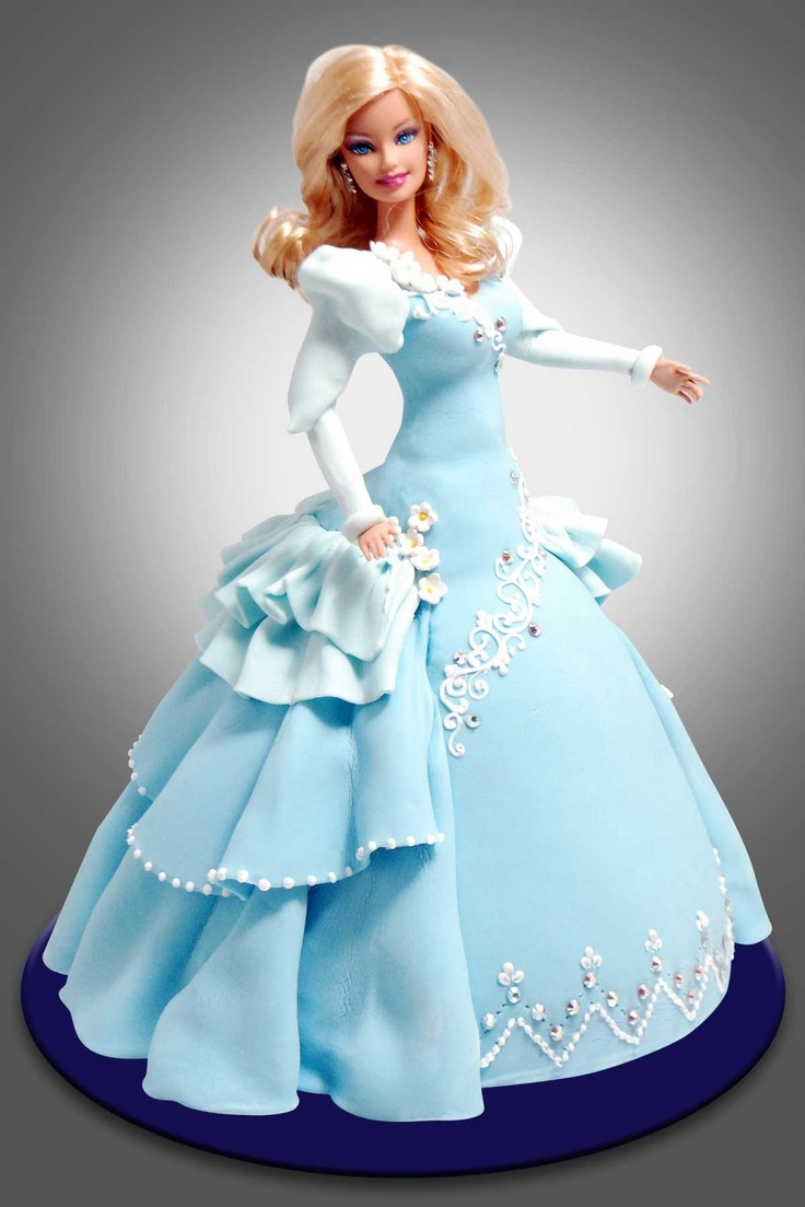 Cake Decoration Doll : 25+ best ideas about Doll Cakes on Pinterest Barbie ...