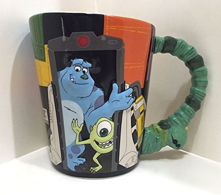 Disney Parks Monsters Inc Sulley Mike Doors Ceramic Mug NEW   Collectibles, Disneyana, Contemporary (1968-Now)   eBay!