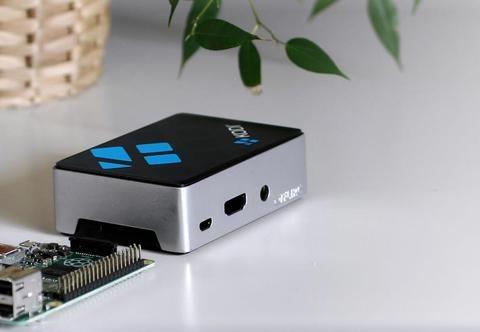 Kodi Edition Raspberry Pi Case - RASPBERRY PI ACCESSORIES - The Pi Hut - 1